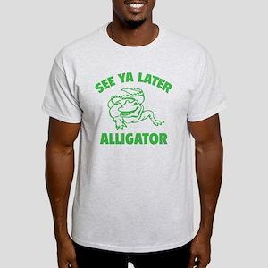 gvAlligator025 Light T-Shirt