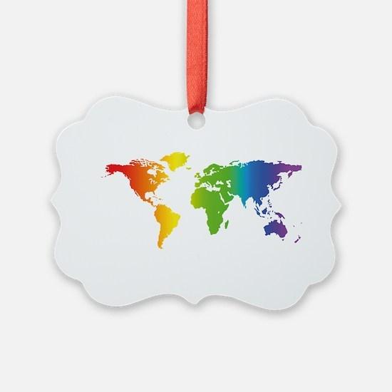Gay Pride Ornament