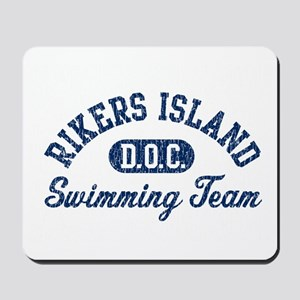 Rikers Island Swimming Team Mousepad