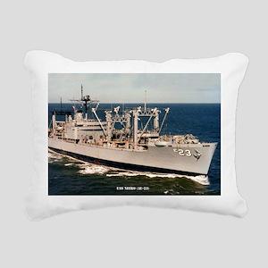 uss nitro large framed p Rectangular Canvas Pillow