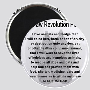 The Paw Revolution Pledge Magnet