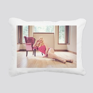 Bianca Bombshell 2013 Ca Rectangular Canvas Pillow