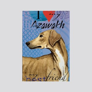 azawakh-journal Rectangle Magnet