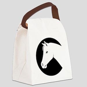 gvHorse044 Canvas Lunch Bag