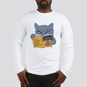 Humans for Dummies Long Sleeve T-Shirt