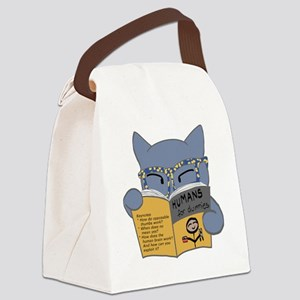 Humans for Dummies Canvas Lunch Bag