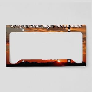 11x17_print_tubman License Plate Holder