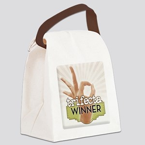 Trifecta Winner Canvas Lunch Bag