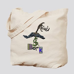 The Root of Money Is Work Tote Bag