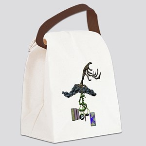 The Root of Money Is Work Canvas Lunch Bag