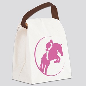 gvHorse050 Canvas Lunch Bag