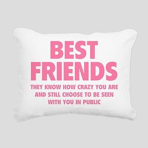 bestfr2C Rectangular Canvas Pillow