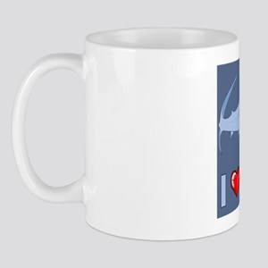 I Love Sharks Mug