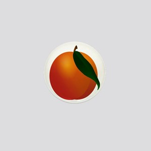 Peach Mini Button