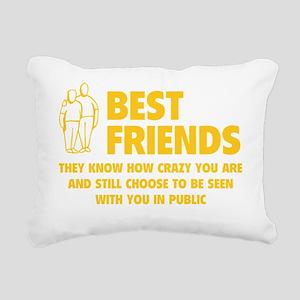 bestfr1E Rectangular Canvas Pillow