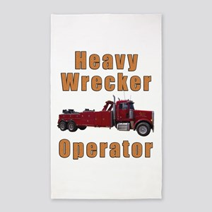 Heavy Tow Truck 3'x5' Area Rug