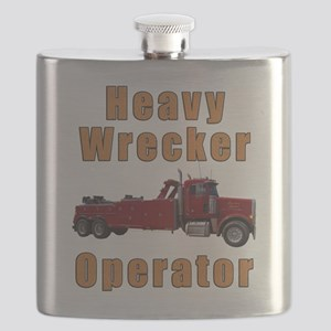 Heavy Tow Truck Flask