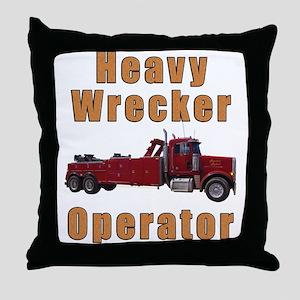 Heavy Tow Truck Throw Pillow
