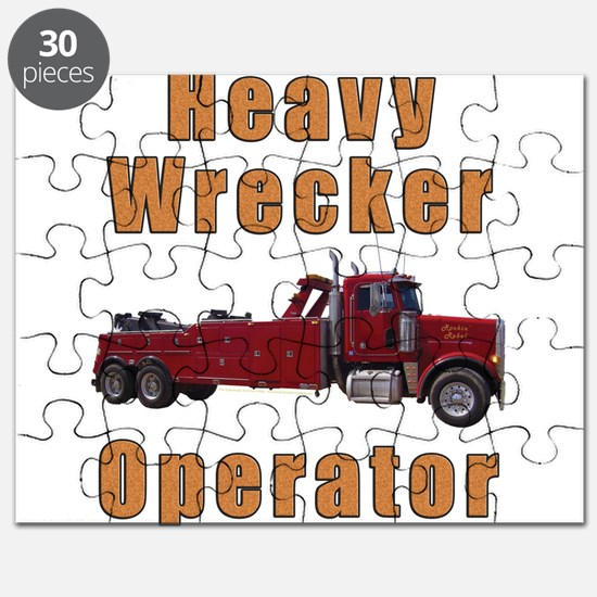 Heavy Tow Truck Puzzle