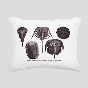 Trilobites Rectangular Canvas Pillow