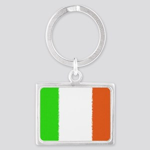 Irish Flag Car Magnet Landscape Keychain