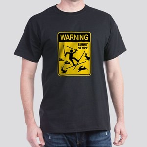 WARNING: Bunny Slope Dark T-Shirt