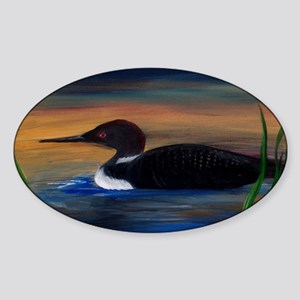Loon Lake Sticker (Oval)