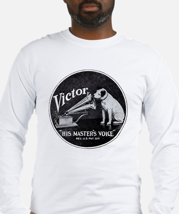 His Masters voice Long Sleeve T-Shirt