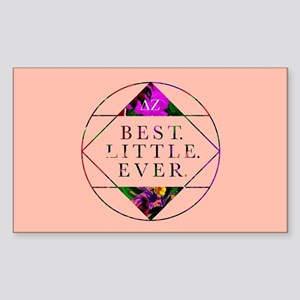 Delta Zeta Best Little Ever Sticker (Rectangle)