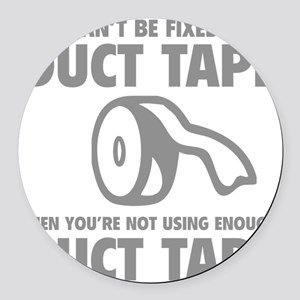 ductFax1C Round Car Magnet