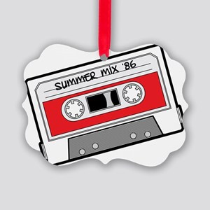 mix tape Picture Ornament