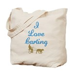 I Love Carting Tote Bag