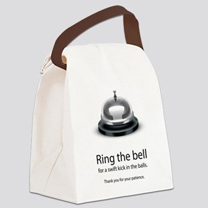 ring bell Canvas Lunch Bag