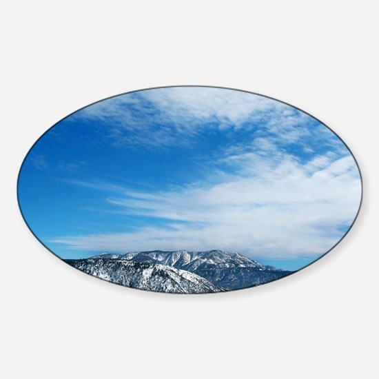 Arctic Circle Sticker (Oval)