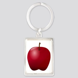 Apple Portrait Keychain
