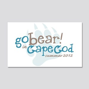 Cape Cod Bear 2012 20x12 Wall Decal