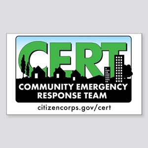 cert-banner-citizencorp-withur Sticker (Rectangle)