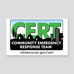 cert-banner-citizencorp-withu Rectangle Car Magnet