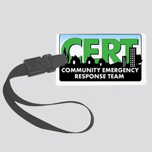 CERT-Citizencorps-banner-no-url- Large Luggage Tag