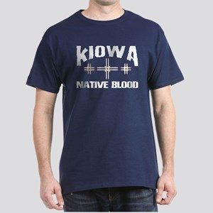 Kiowa Native Blood Dark T-Shirt