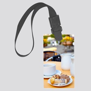 Breakfast is Served Large Luggage Tag