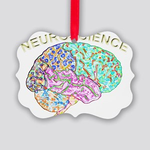 Neuroscience Picture Ornament