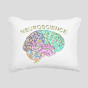 Neuroscience Rectangular Canvas Pillow