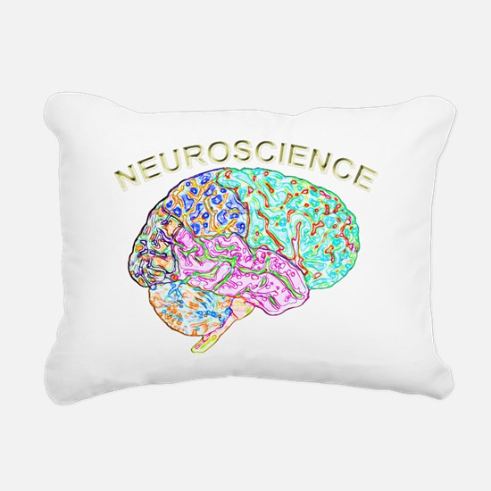 Neuroscience Rectangular Canvas Pillow
