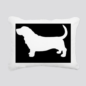 bassethitch Rectangular Canvas Pillow