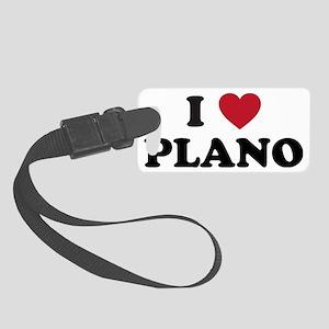 I Love Plano Texas Small Luggage Tag