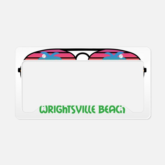 Sun Here Burns My Eyes Wright License Plate Holder