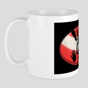 idive flag 3x5 Mug