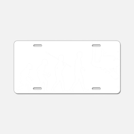 Marine-Biologist1 Aluminum License Plate