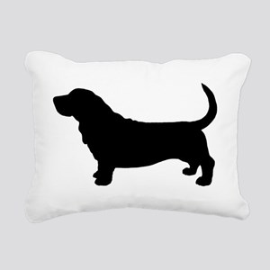 bassetdrkz Rectangular Canvas Pillow